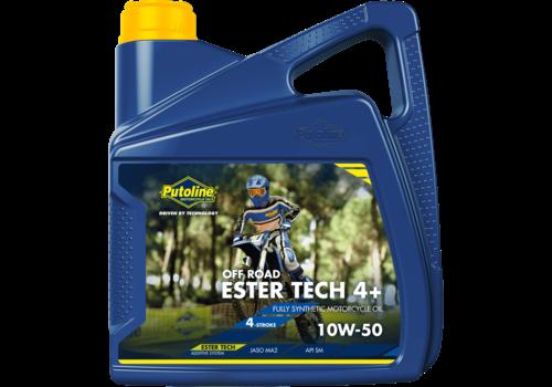 Putoline Ester Tech Off Road 4+ 10W-50 - Competitie motorolie, 4 lt