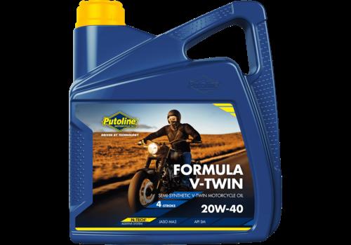 Putoline Formula V-Twin 20W-40 - Motorfietsolie, 4 lt