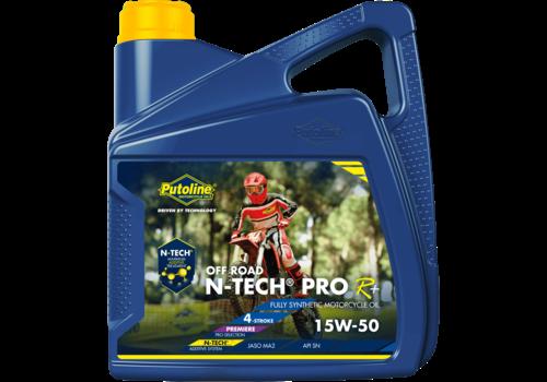 Putoline N-Tech® Pro R+ Off Road 15W-50 - Motorfietsolie, 4 lt