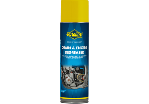 Putoline Chain & Engine Degreaser - Ontvetter, 500 ml