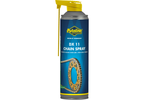 Putoline DX 11 Chain Spray - Kettingsmeermiddel, 500 ml