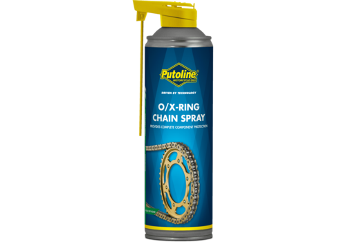 Putoline O/X-ring Chainspray - Kettingsmeermiddel, 500 ml