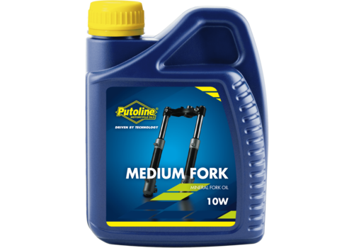 Putoline Medium Fork - Voorvorkolie, 500 ml