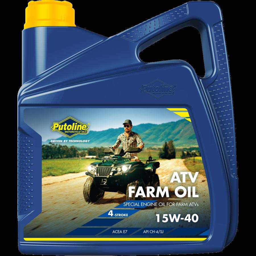 ATV Farm Oil 15W-40, 4 x 4 lt