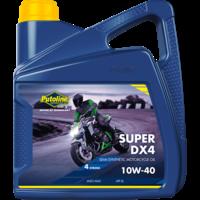 Super DX4 10W-40 - 4-Takt motorfietsolie, 4 x 4 lt