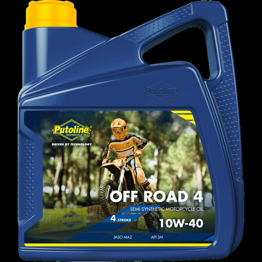 Off Road 4 10W-40 - Motorfietsolie, 4 x 4 lt