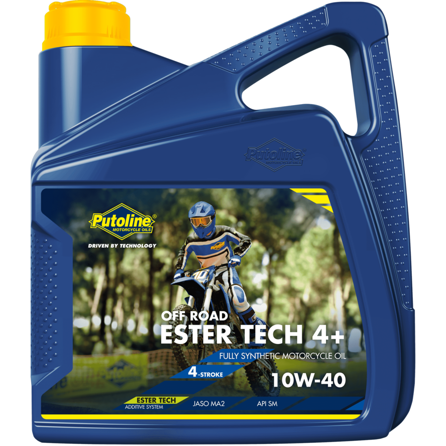 Ester Tech Off Road 4+ 10W-40 - Competitie motorolie, 4 x 4 lt