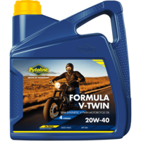 Formula V-Twin 20W-40 - Motorfietsolie, 4 x 4 lt