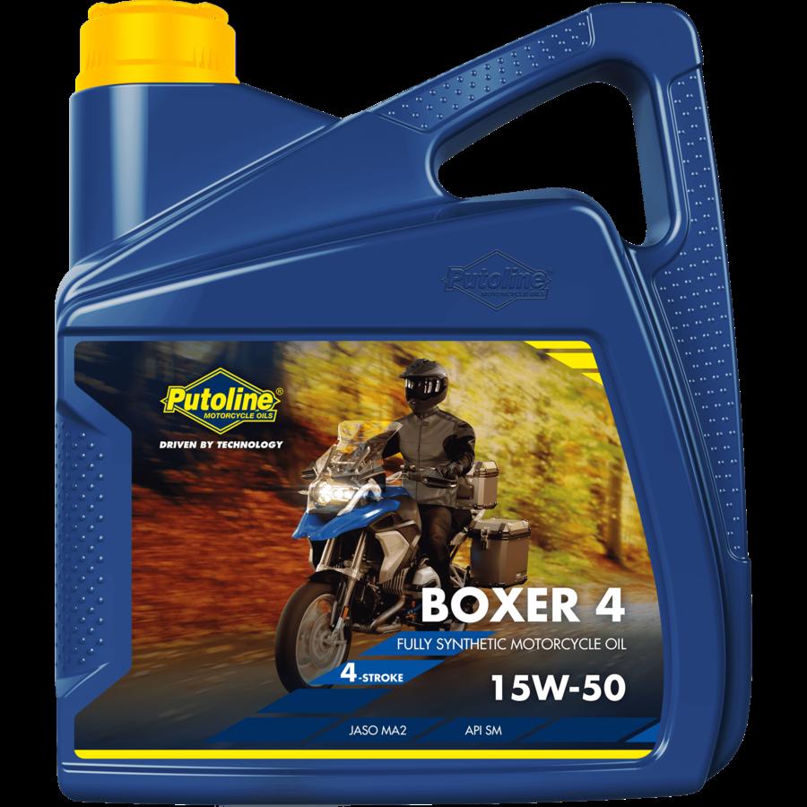 Boxer 4 15W-50 - Motorolie, 4 x 4 lt