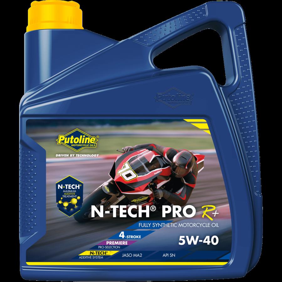 N-Tech® Pro R+ 5W-40 - Motorfietsolie, 4 x 4 lt