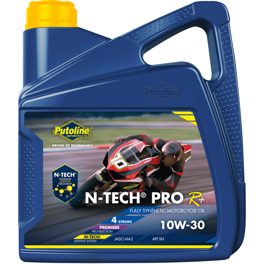 N-Tech® Pro R+ 10W-30 - Motorfietsolie, 4 x 4 lt