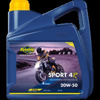 Sport 4R 20W-50 - 4-Takt motorfietsolie, 4 x 4 lt