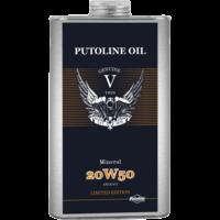 Genuine V-Twin Mineral 20W-50 - Motorfietsolie, 6 x 1 lt