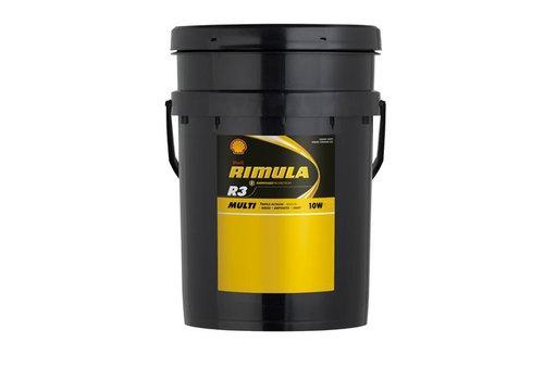 Shell Rimula R3 10W (CF) - Heavy Duty Engine Olie, 20 lt