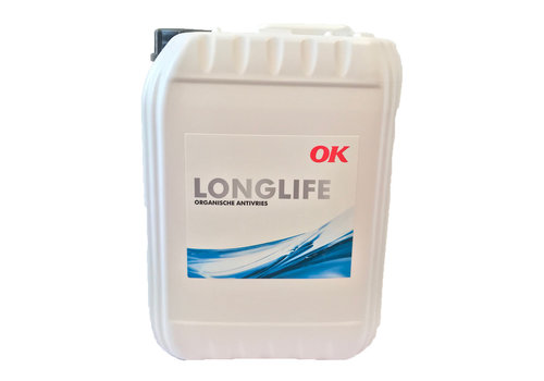 OK Olie Longlife - Organische Antivries, 10 lt