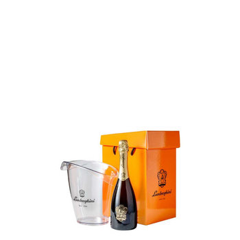 Lamborghini Prosecco Extra Dry Gift Box + Ice Bucket