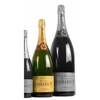 Lombard & Cie Champagne Lombard Brut Référence Magnum