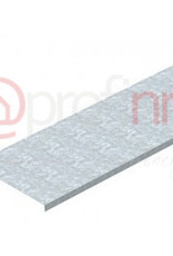 Deksel, ongeperforeerd voor kabelgoot en kabelladder 150x3000