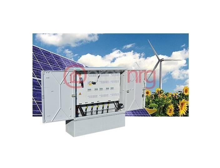 Verdeelkasten Geyer Onderverdeelinrichting 400A - incl. 9 groepen & kWh-meter