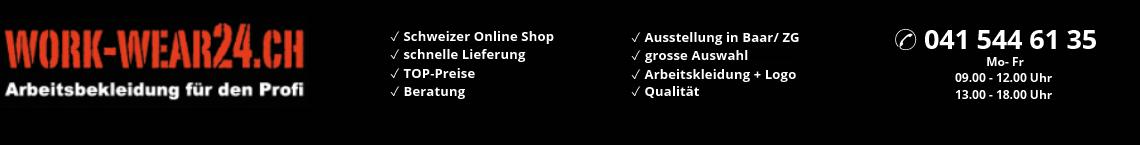 Berufsbekleidung in der Schweiz günstig online kaufen