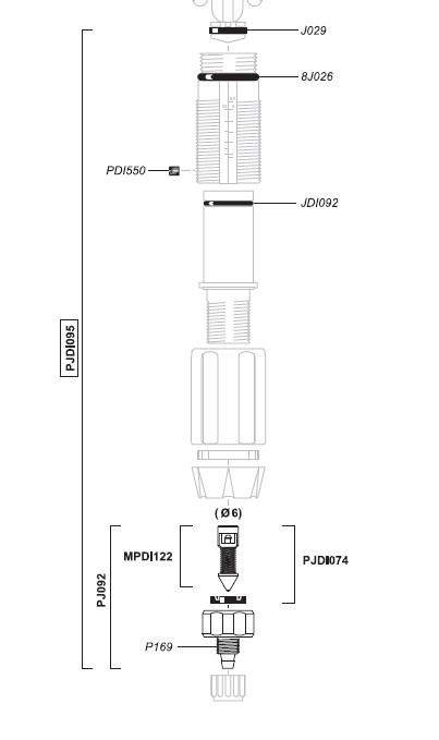 PJDI095 - Dichtingsset voor D07RE5