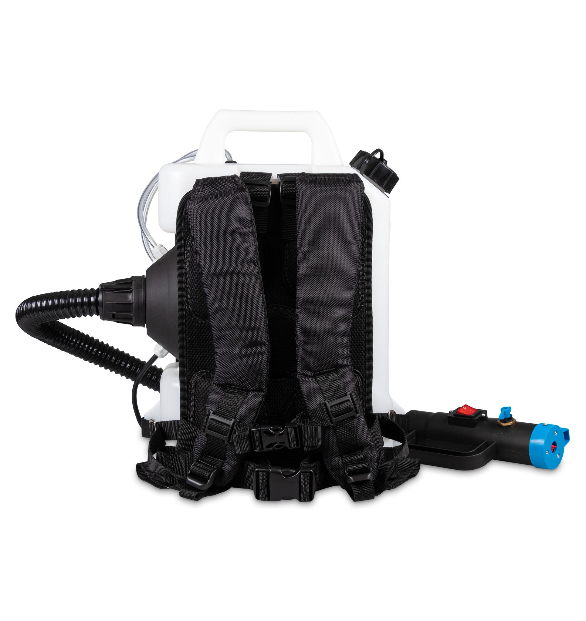 Nébulisateur dorsal + Distributeur infrarouge pour gel hydroalcoolique gratuit