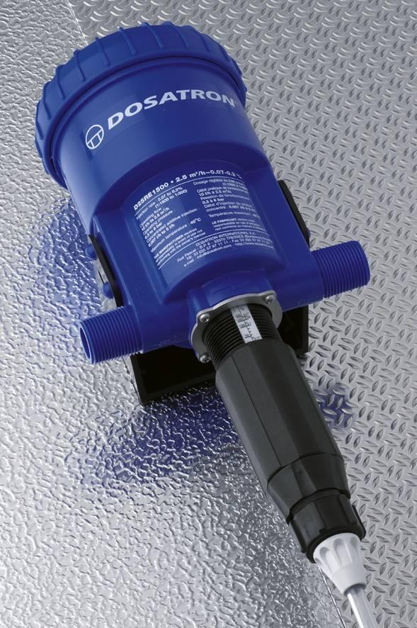 D25RE1500   Dosatron dosing pump 0,07 - 0,2%