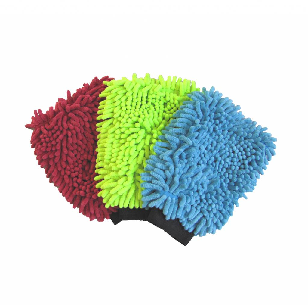 Washandschoen microvezel DUO