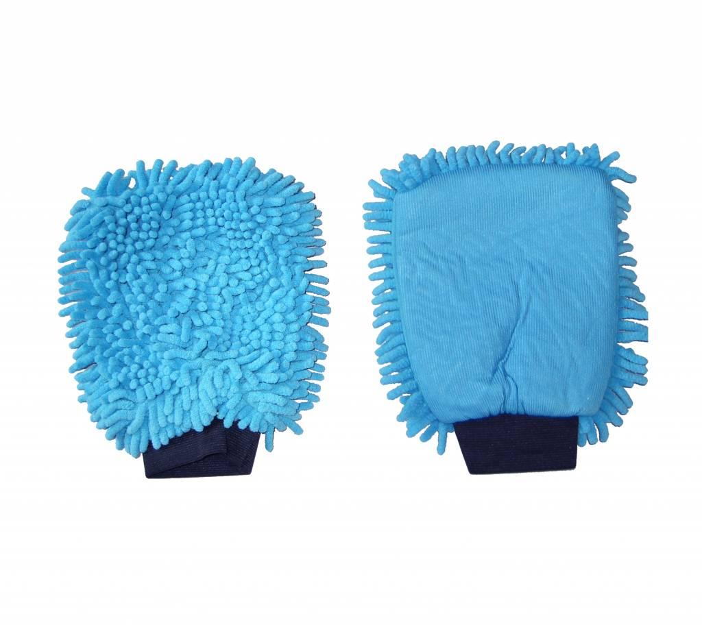 Gant de lavage microfibre DUO