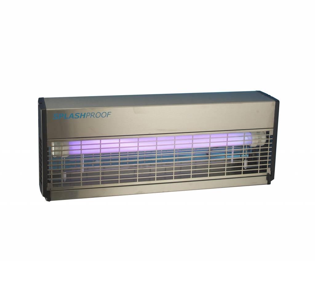 Elektrische Insectenlamp IPX4 met 2 UV-lampen van 36 Watt