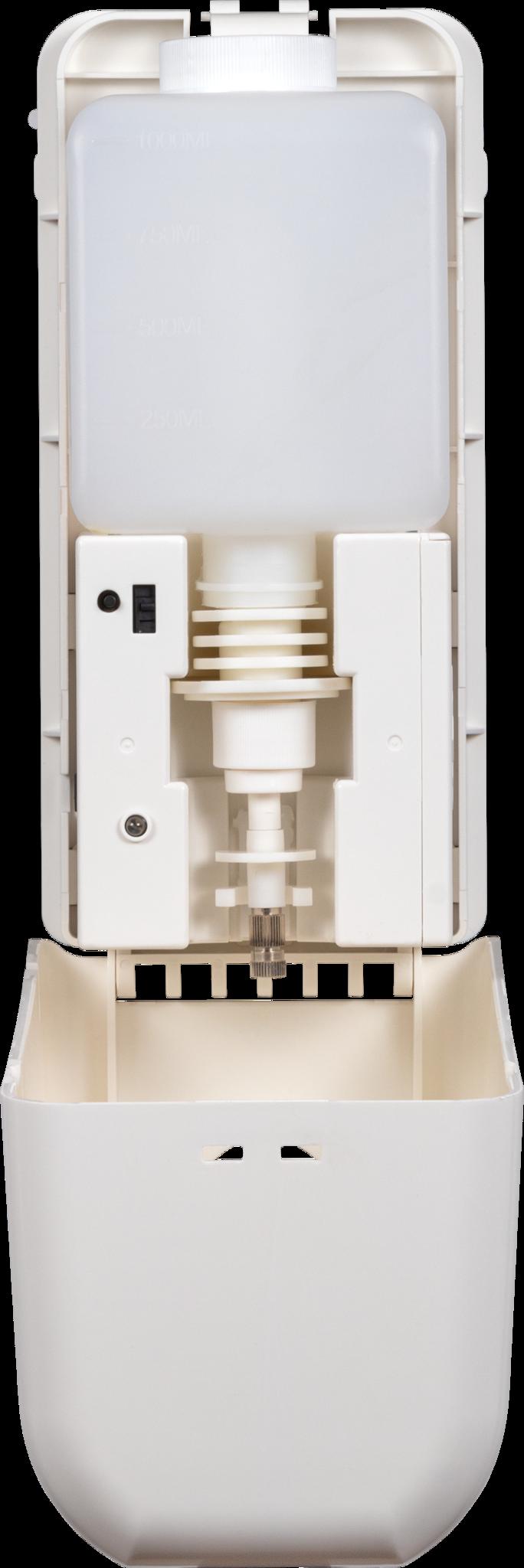 Distributeur infrarouge pour gel hydroalcoolique