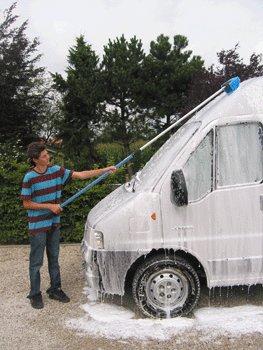 4-zijdige vrachtwagenborstel 25 cm