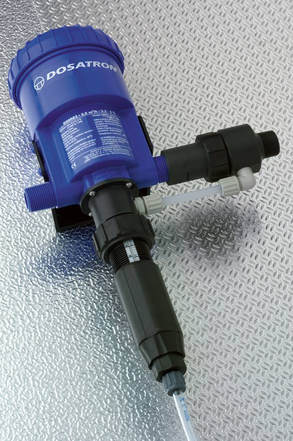D25RE2-IE | Dosatron dosing pomp with external injection 0,2 - 2%