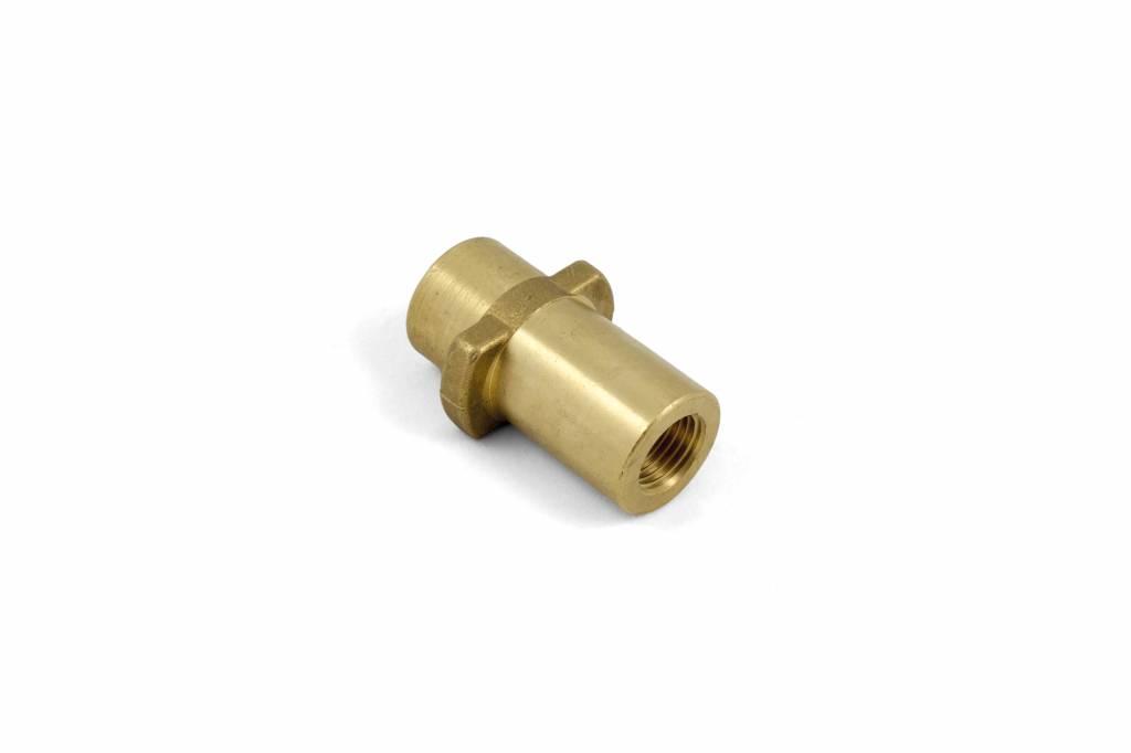 Bajonetkoppeling Karcher messing 1/4V