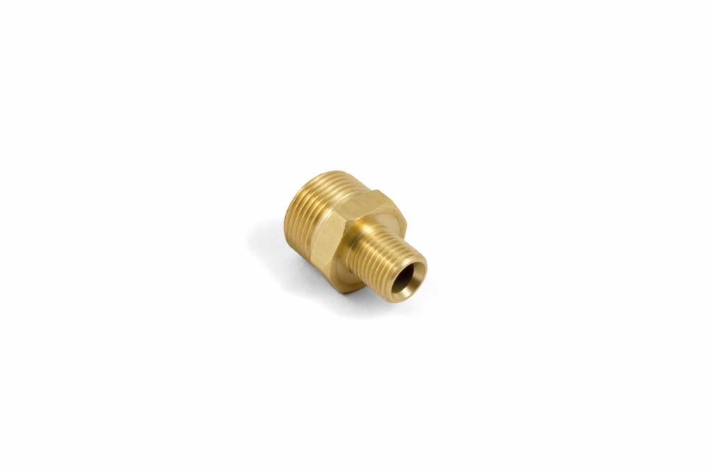 Nipple brass M22 x 3/8M