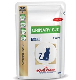 Royal Canin Royal Canin Urinary S/O Kat Maaltijdzakjes Rund 12x100g
