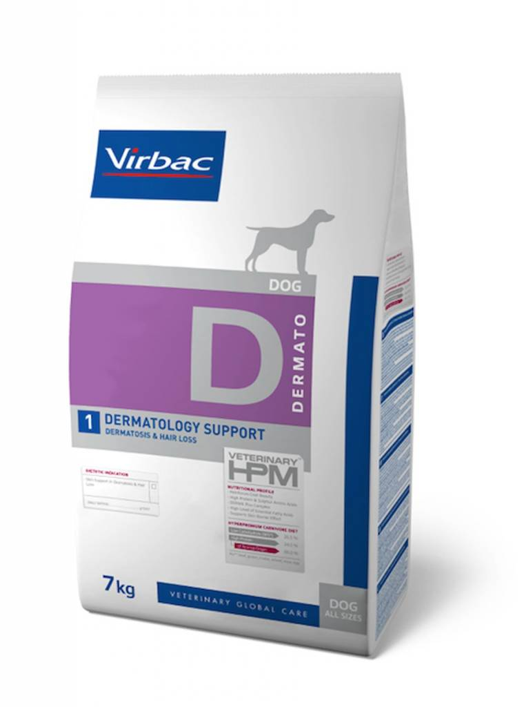 Virbac Virbac HPM Dermatology Support Hond 7Kg