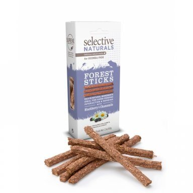 SUPREME PETFOODS FOREST STICK GUINEA PIGS 4X60G