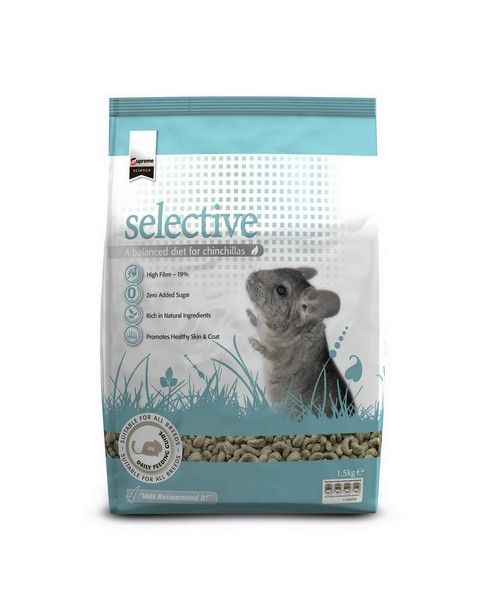 SUPREME PETFOODS SCIENCE SELECTIVE CHINCHILLA 5X0,35KG