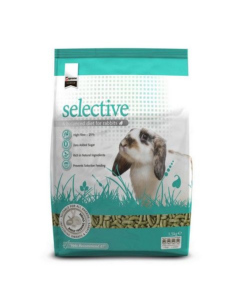 SUPREME PETFOODS SCIENCE SELECTIVE RABBIT 1,5KG