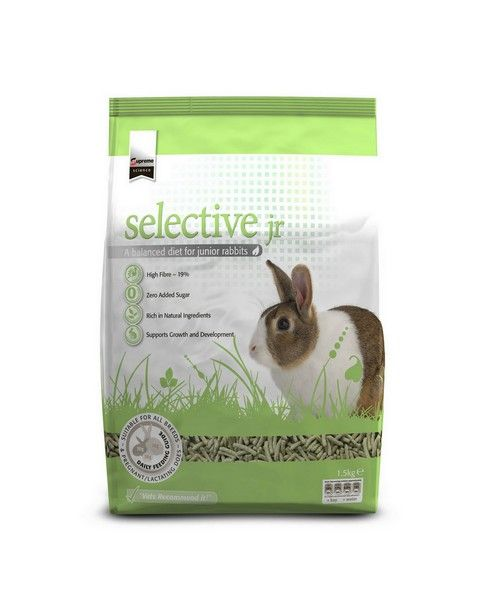 SUPREME PETFOODS SCIENCE SELECTIVE RABBIT JUNIOR 1,5KG