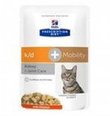 Hill's HILLS PDIET FELINE KD/MOBILITY POUCH 12X85G