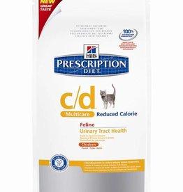 Hill's Hill's Prescription Diet Feline c/d Multicare Reduced Calorie Chicken 1.5 kg