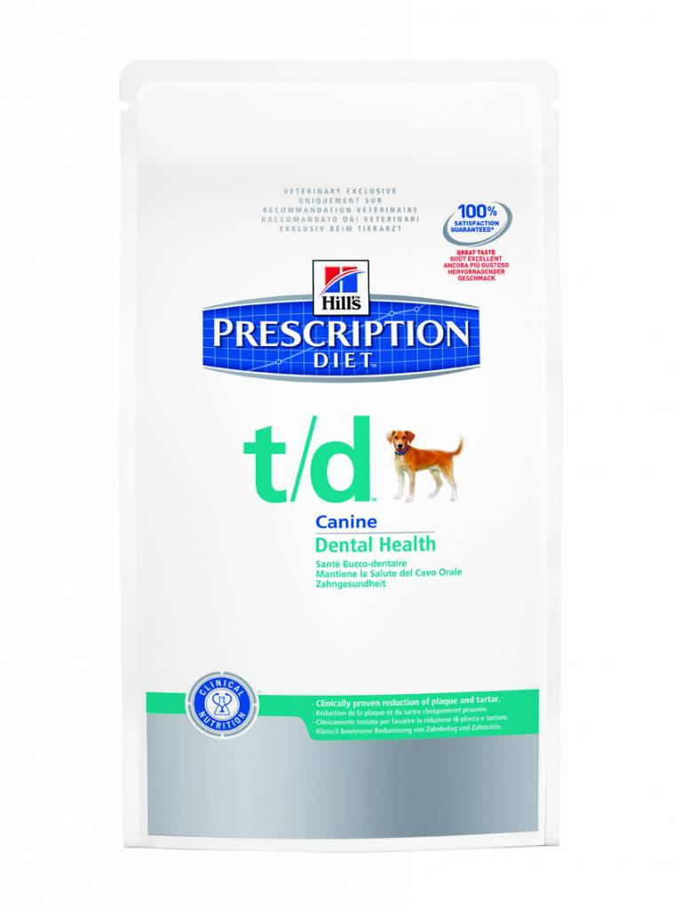 Hill's Hill's Prescription Diet Canine t/d 10 kg