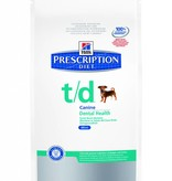 Hill's Hill's Prescription Diet Canine t/d MINI 3 kg