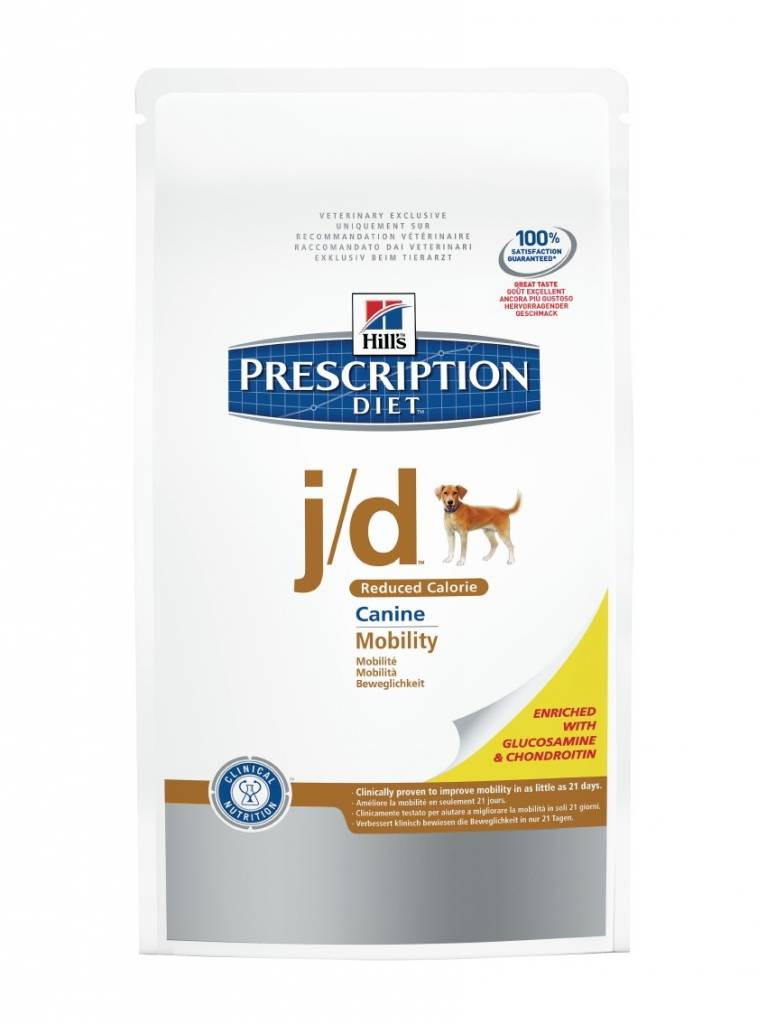 Hill's Hill's Prescription Diet Canine j/d Reduced Calorie 4kg