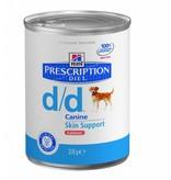 Hill's Hill's Prescription Diet Canine d/d Salmon 12x 370gr