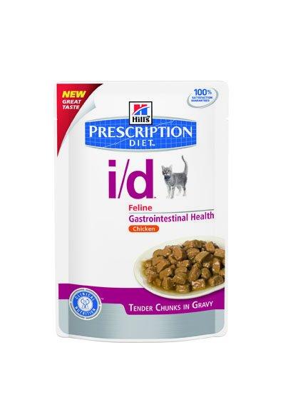 Hill's Hill's Prescription Diet Feline i/d Minced with Chicken 24x 85gr