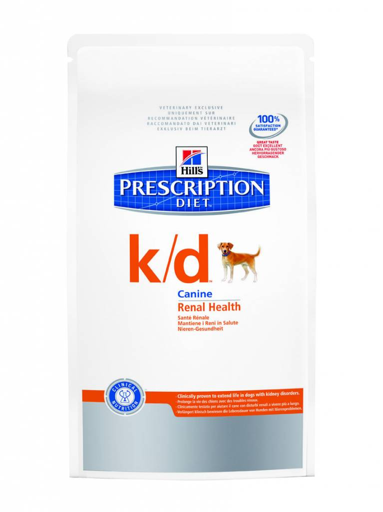 Hill's Hill's Prescription Diet Canine k/d 12kg