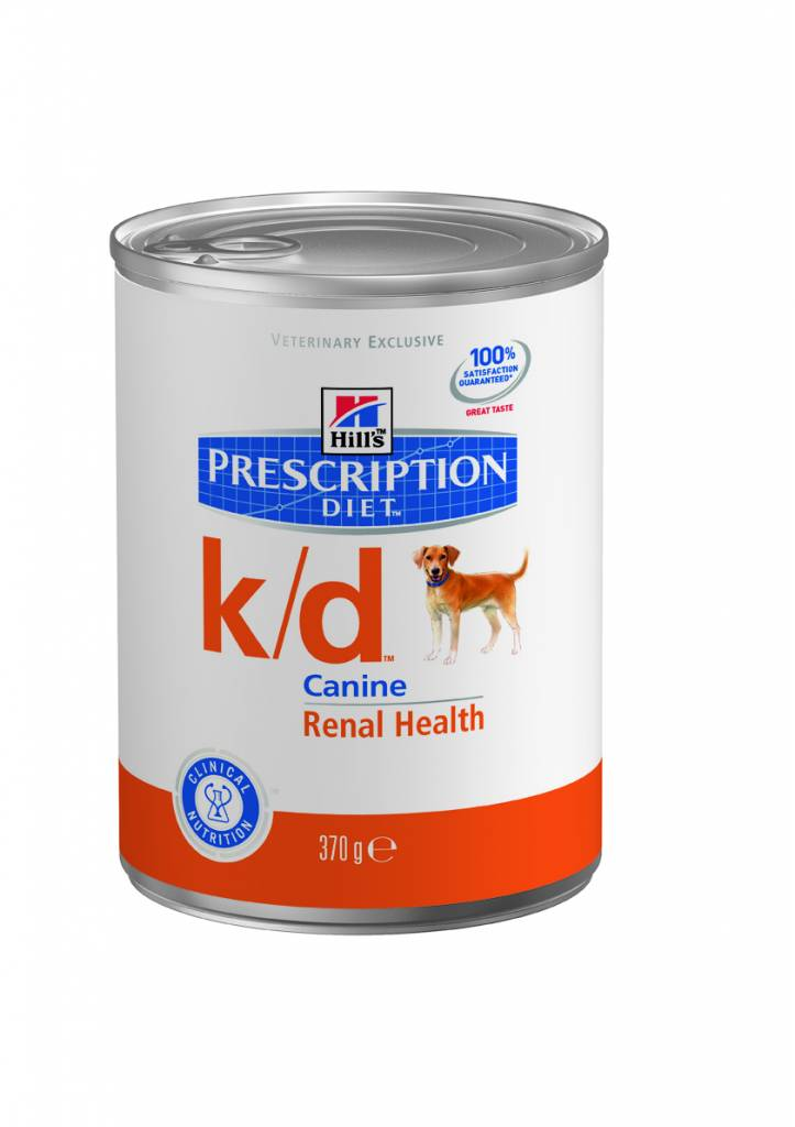 Hill's Hill's Prescription Diet Canine k/d 12x 370gr